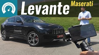Maserati Levante Q4 2018. Тест драйв снят на смартфон смотреть