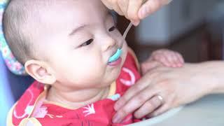 모유수유 아가 첫 이유식! 쌀미음 만들기