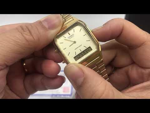 Casio Watch AQ-230GA And AQ-230A