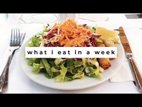 What I Eat in a Week | Vegan in Greece