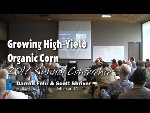 Growing High-Yield Organic Corn - Darren Fehr & Scott Shriver