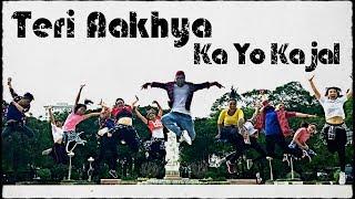 Teri Aakhya Ka Yo Kajal | DC Madana, Veer Dahiya | Haryanvi Song | Sannthosh Choreography