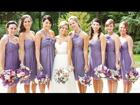 Lilac And White Wedding Theme Youtube