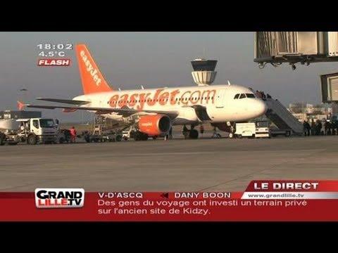 L'aéroport de Lille se développe