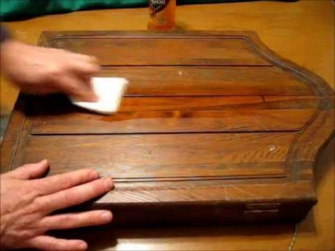 Restore Filthy Antique Wood and Furniture Fast and Simple -