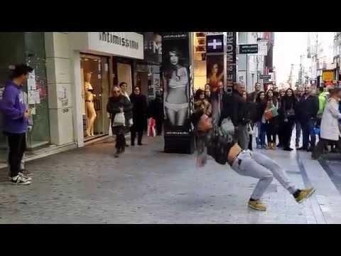 Athens Street dance, (Ermou)