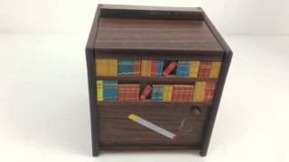 Vintage Mechanical Cigarette Dispenser Windup Music Smoke Gets In Your Eyes At Connectibles