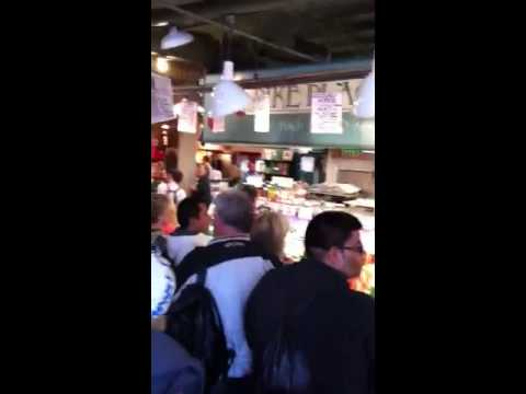 Woodlands Trip- Seattle Pike Fish Market