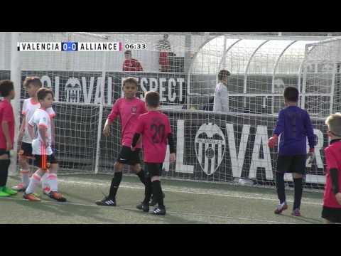 Alliance FC U10s vs Valencia CF | 4th April 2017