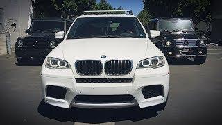 ЛЕГЕНДА M5 E60 за $25k, на ГЕЛИКАХ по Лос-Анджелесу, X5M с ланча, BMW i3 в камуфляже