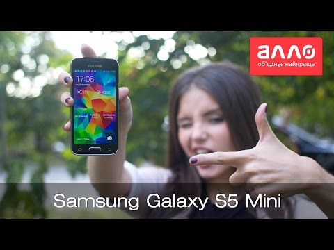 Видео-обзор смартфона Samsung Galaxy S5 Mini