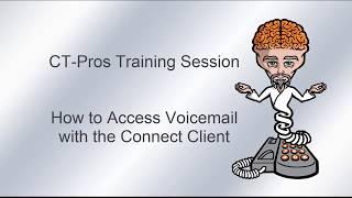 How Access Voicemail with the Mitel/ShoreTel Connect Client