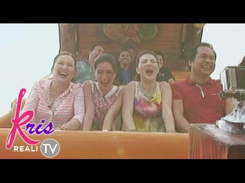 Exciting Rides in Tagaytay amusement park on Kris TV