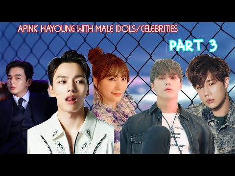 Apink Hayoung with male idols Part 3