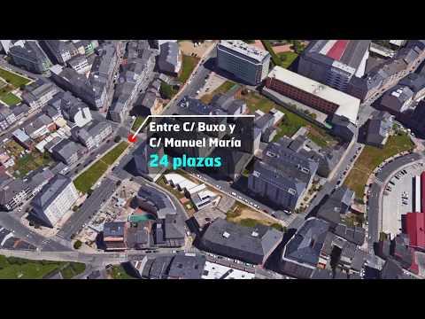 Estos son los siete nuevos aparcamientos gratuitos de Lugo para 2019