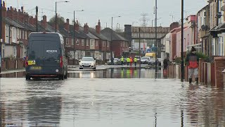 Yorkshire hit by severe flooding