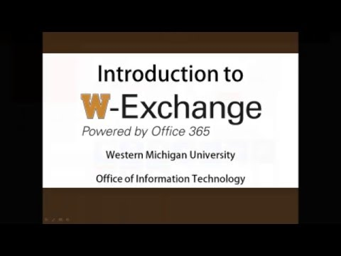 Introduction to W-Exchange on the web