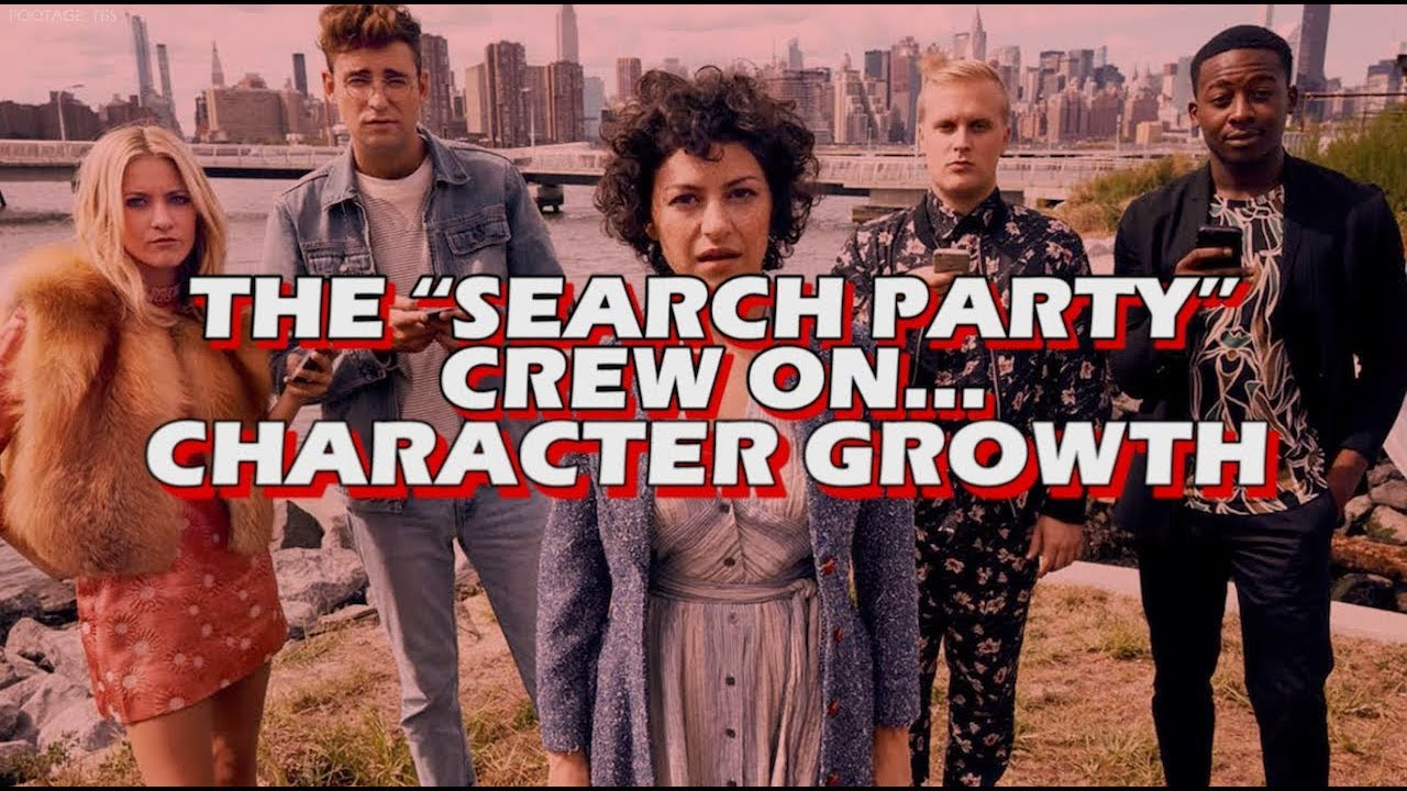 Download Search Party Season 2 - Cast Interview