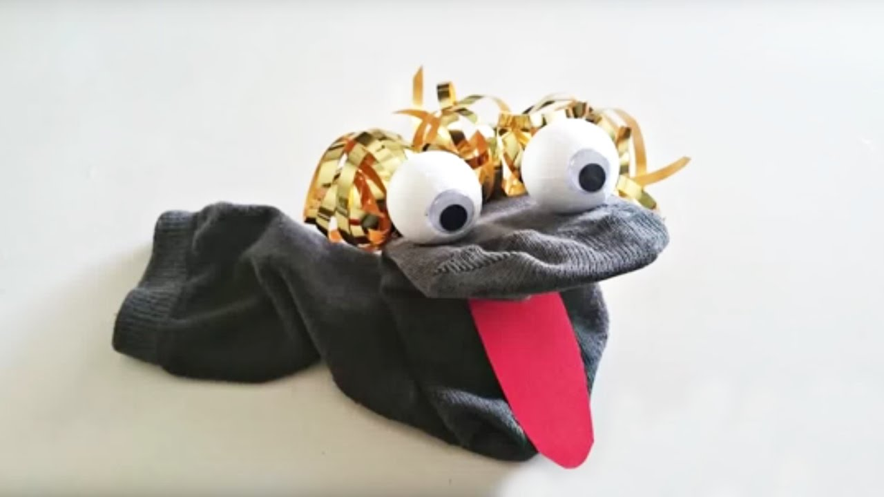 Comment fabriquer une marionnette avec une chaussette youtube - Comment fabriquer un sextoy ...