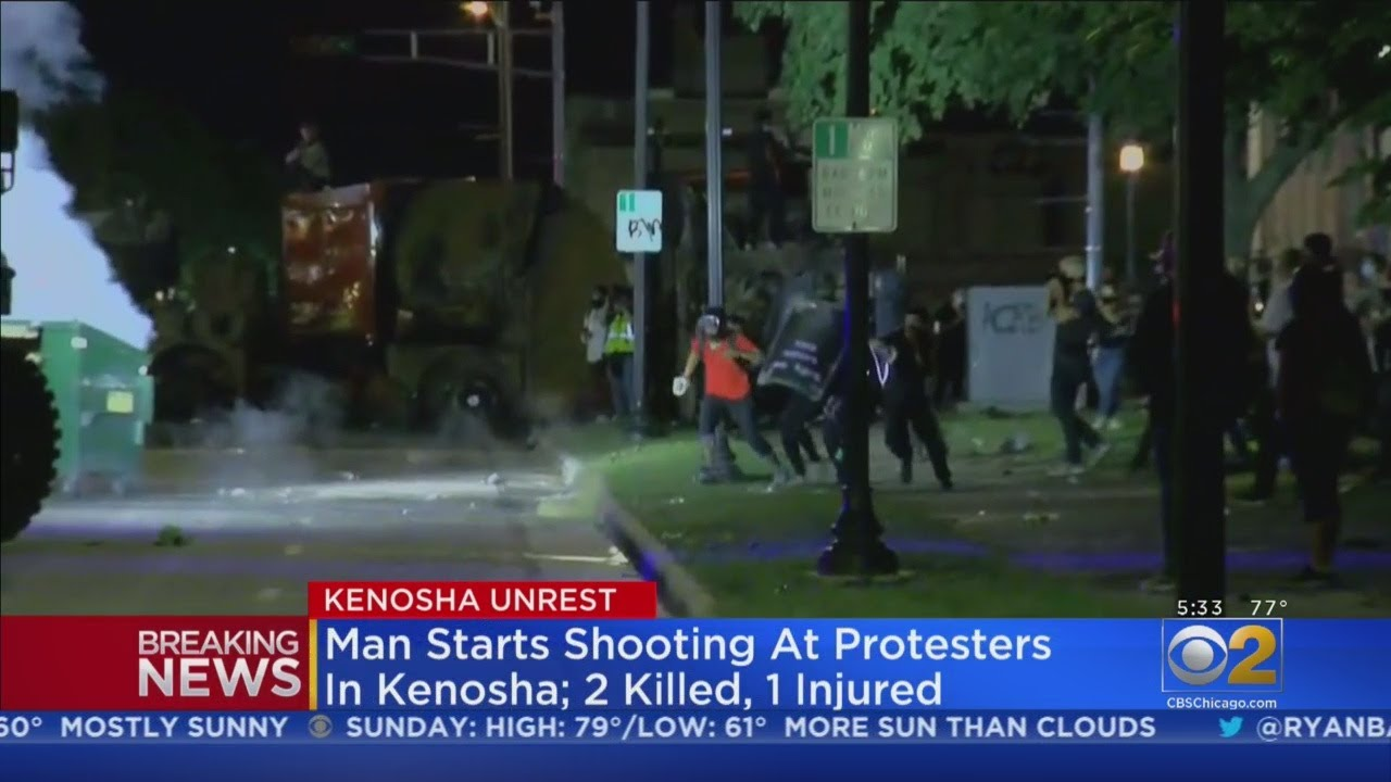 3 Shot, 2 Killed in 3rd Night of Protest For Police Shooting of Jacob Blake