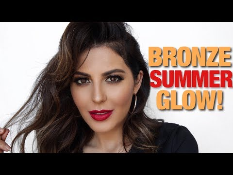 Generate Summer Bronze: My Go-To Makeup Tutorial | Sona Gasparian Images