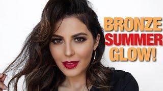 Summer Bronze: My Go-To Makeup Tutorial   Sona Gasparian