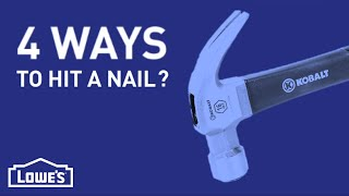 There Are 4 Ways To Hit A Nail? | Diy Basics