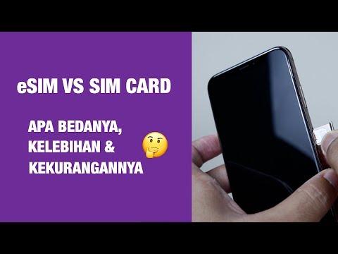 Apa Itu ESIM Dan Apa Bedanya Dengan SIM Card Biasa?