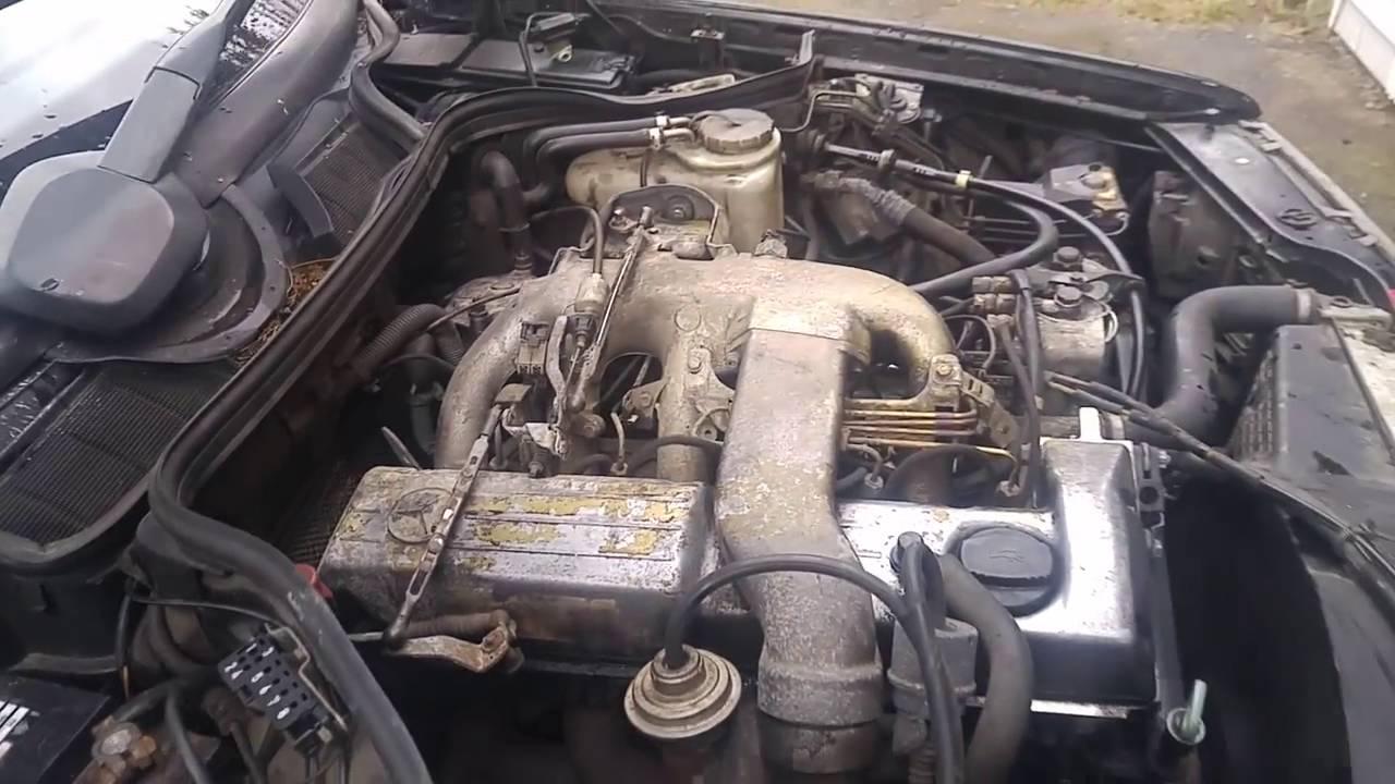 1990 Mercedes Benz 300D 2 5 Turbo Diesel OM602