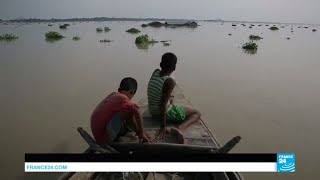 Nepal, Bangladesh submerged by torrential rains and extreme flooding