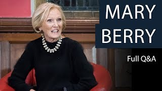 Mary Berry | Full Q&A | Oxford Union