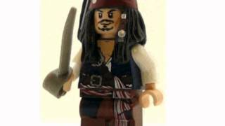 Pirates Of The Caribbean Minifig Captain (Toy)
