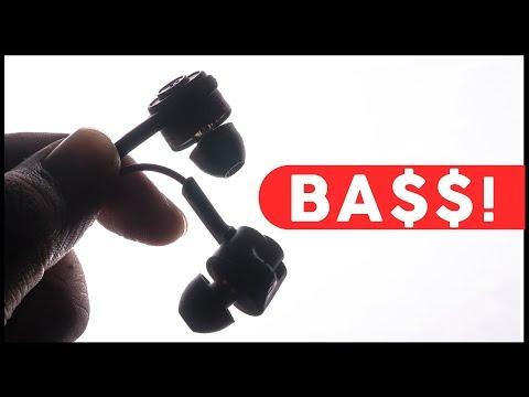 Super BASS-Heavy Earphones for Cheap (Under $20/1500 Rupees!) 2018 -  Blitzwolf ES2 Review