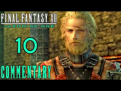 Final Fantasy XII The Zodiac Age Walkthrough Part 10 - Basch's Bombshell PS4 Gameplay