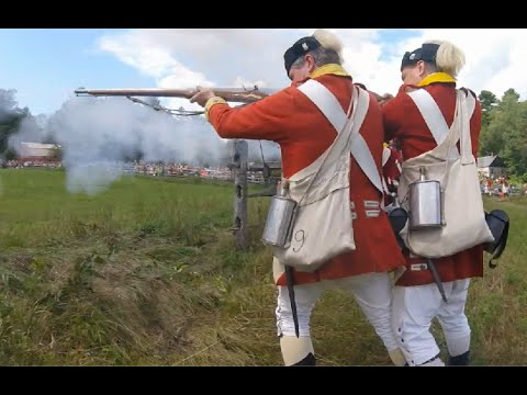 Old Sturbridge Village Redcoats and Rebels, 2016 | Second Day | First Person Reenactment