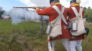 old sturbridge village redcoats and rebels 2016   second day   first person reenactment