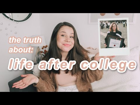 POST GRAD LIFE 🎓 Making Friends, Comparison, Salary, Job Hunt And Why Life Is Hard After Graduating