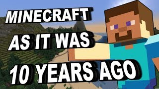 Playing Minecraft As It Was 10 Years Ago - NO Updates