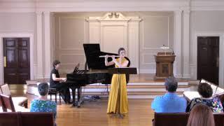 Sonata for flute and piano, I. Allegro giocoso (J. Feld)