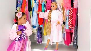 صوفيا و الأخت يريدوا نفس الفستان !!