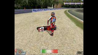 Superbike 2001 PC | Monza | Crash 1