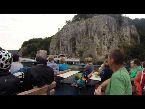 Danube BikeTrail Donaueschingen - Linz (Eurovelo6) with sound