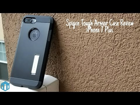 newest 4a421 a90c5 iPhone 7 Plus Spigen Tough Armor Case Review!