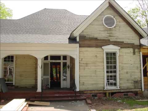 Custom remodel job on historic home close to square in Covington GA