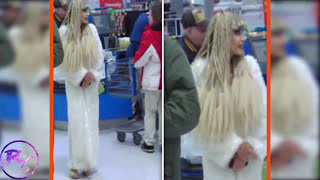 Repeat youtube video Strangest and Weirdest People Found Shopping at Walmart