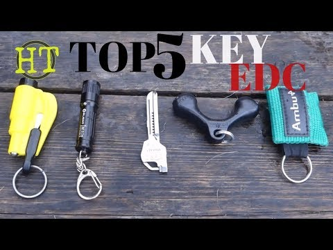 Top 5 Essential EDC Keychain Tools