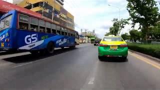 Traffic in Bangkok Thailand at work hours #HereThailand