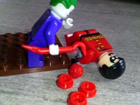 Lego Batman La Mort De Robin Jason Todd Youtube