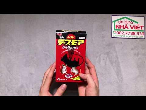 G️iới thiệu Thuốc viên diệt chuột Dethmor Nhật Bản