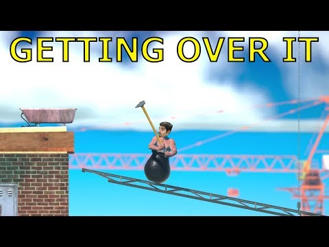 Watch ME RAGE !! Getting Over It with Bennett Foddy Gameplay Walkthrough Part 2 LIVE !
